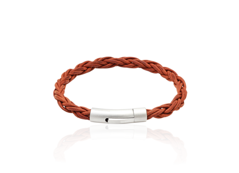 Bracelete Trançado Brown