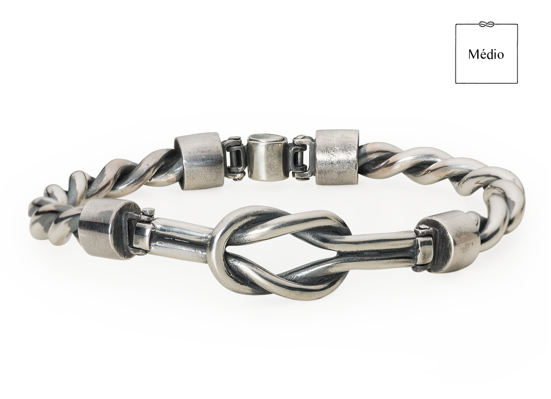 Bracelete Nó Médio