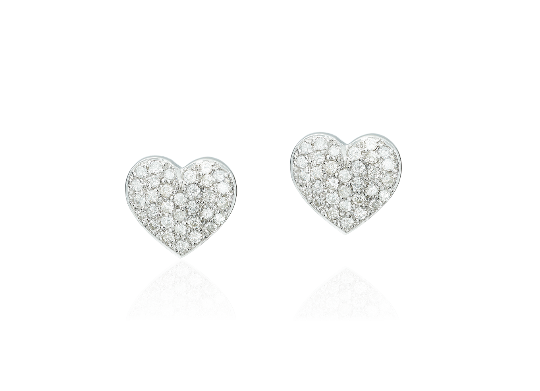 Brinco Diamond Heart