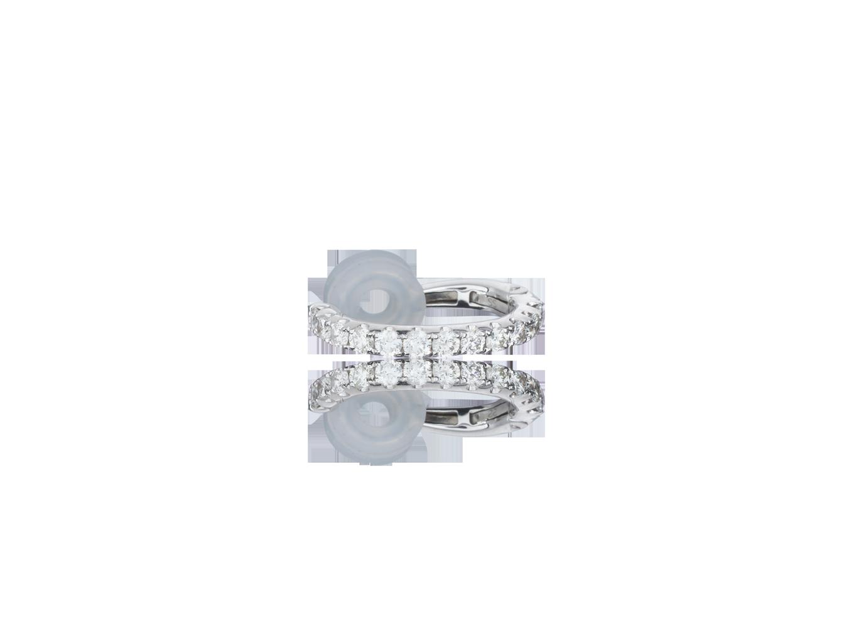 Piercing Diamantes Luminous Chain White