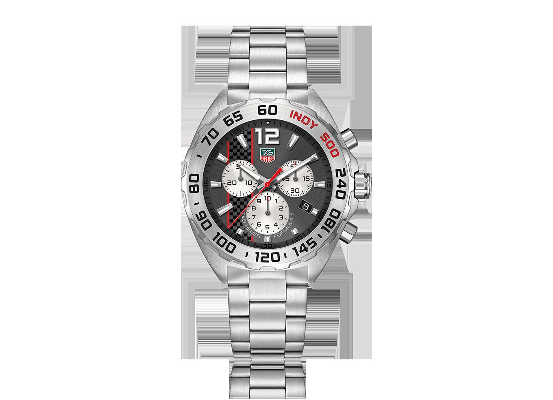 89841af256a TAG Heuer Formula 1 – Edição especial Indy 500. Movimento  contador de  minutos às 9h