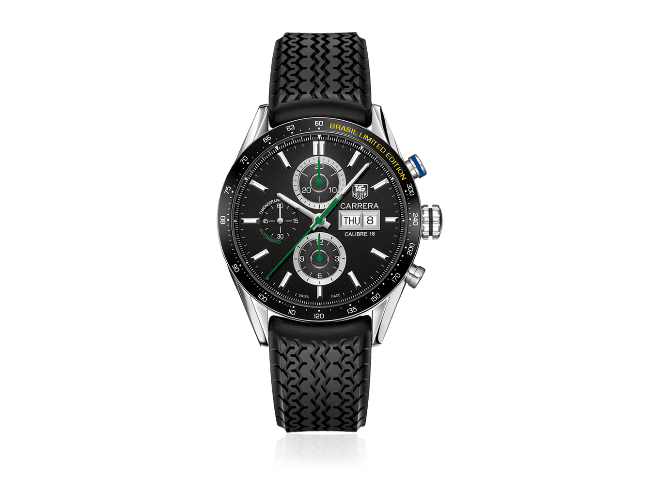 TAG Heuer Carrera - Day Date Brasil Limited Edition