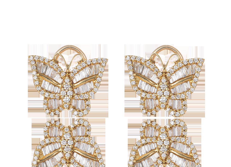 Brinco Papillon D`Or