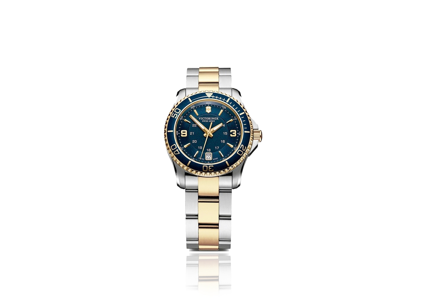 Maverick GS Blue Dial Two-tone Stainless Steel