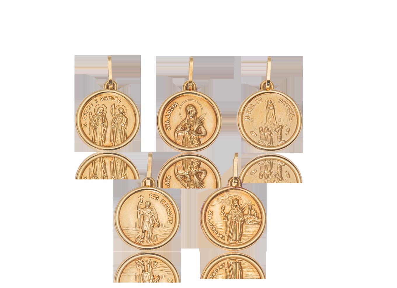 Pingentes Medalhas de Santos Católicos