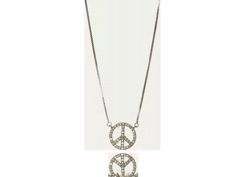 Gargantilha Paz e Amor