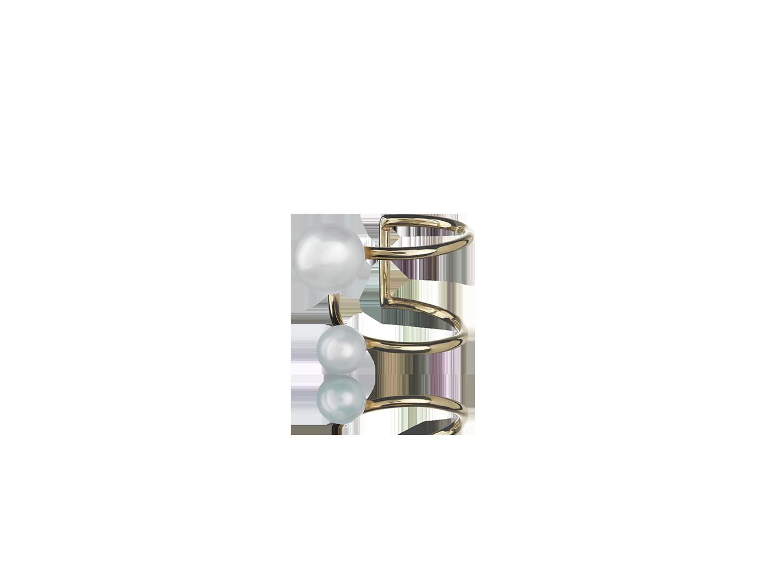 Piercing Twin Pearls