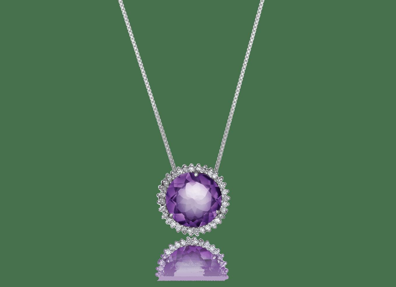 Pingente Round Purple