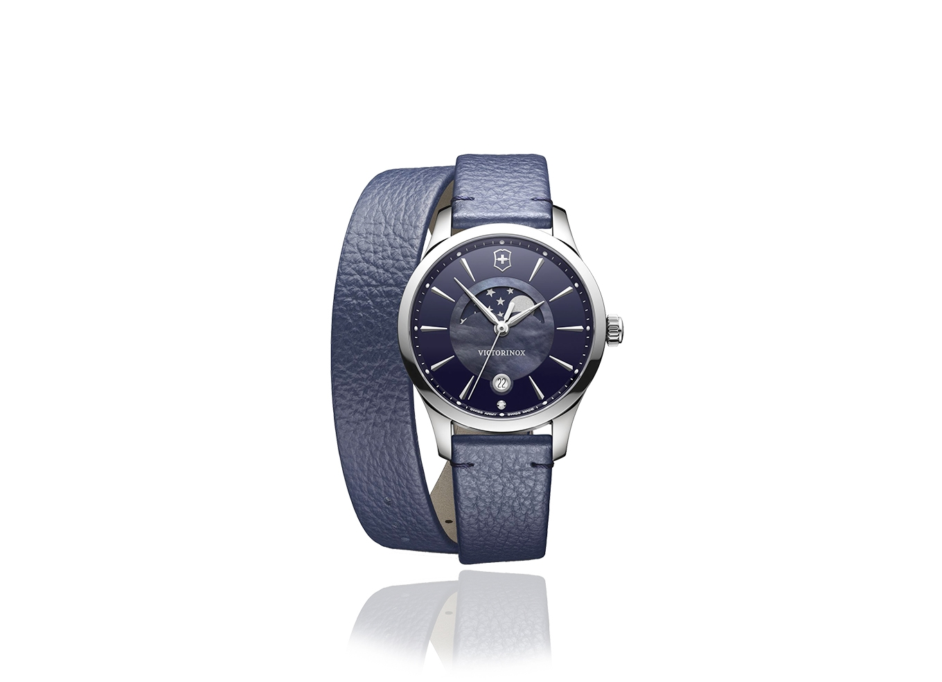 Swiss Army Alliance Small Blue Dial