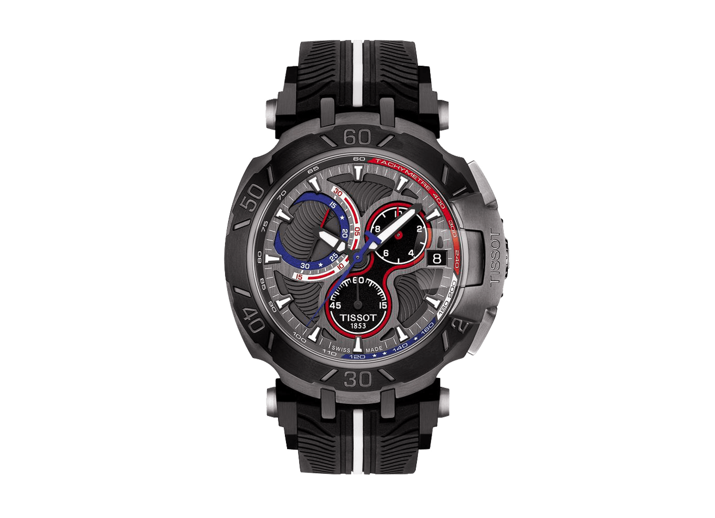 T-Race MotoGP Anthracite Chronograph Dial