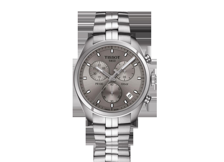 fc09c3b284a TISSOT PR 100 CHRONOGRAPH. O Tissot PR 100 é um relógio clássico ...