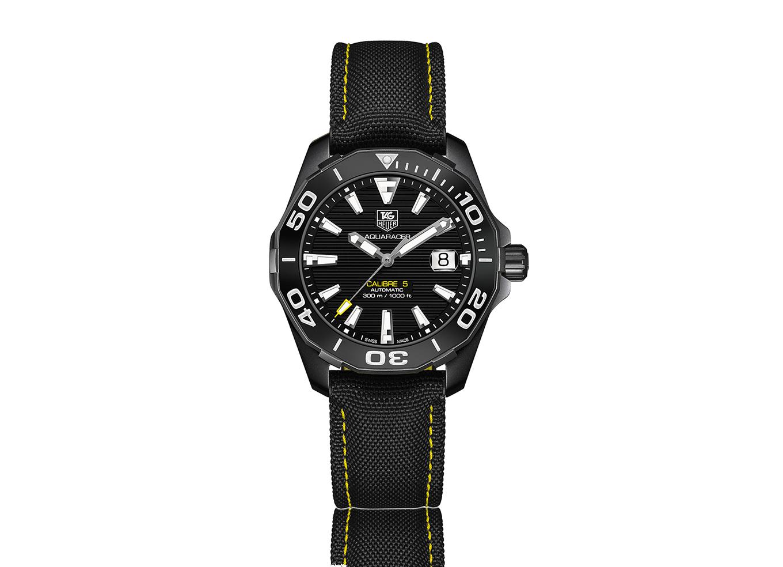 a607f7995b7 AQUARACER Calibre 5 Relógio Automático 300 M - Versão em preto