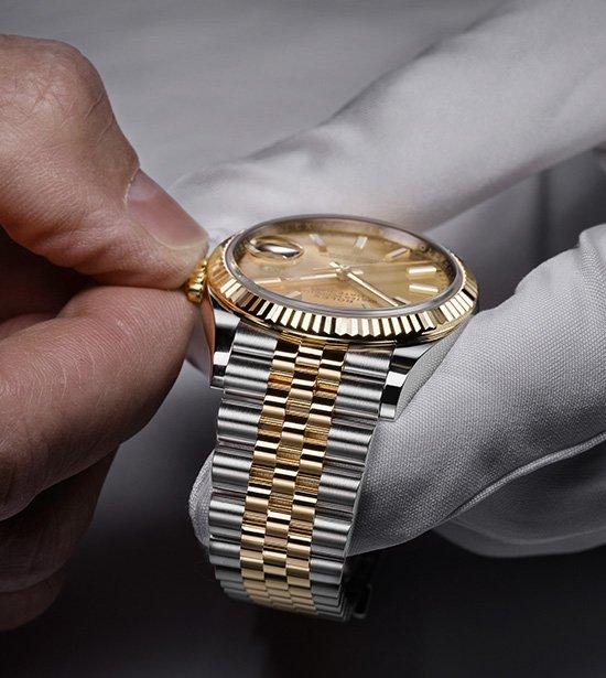 A Manutenção Rolex