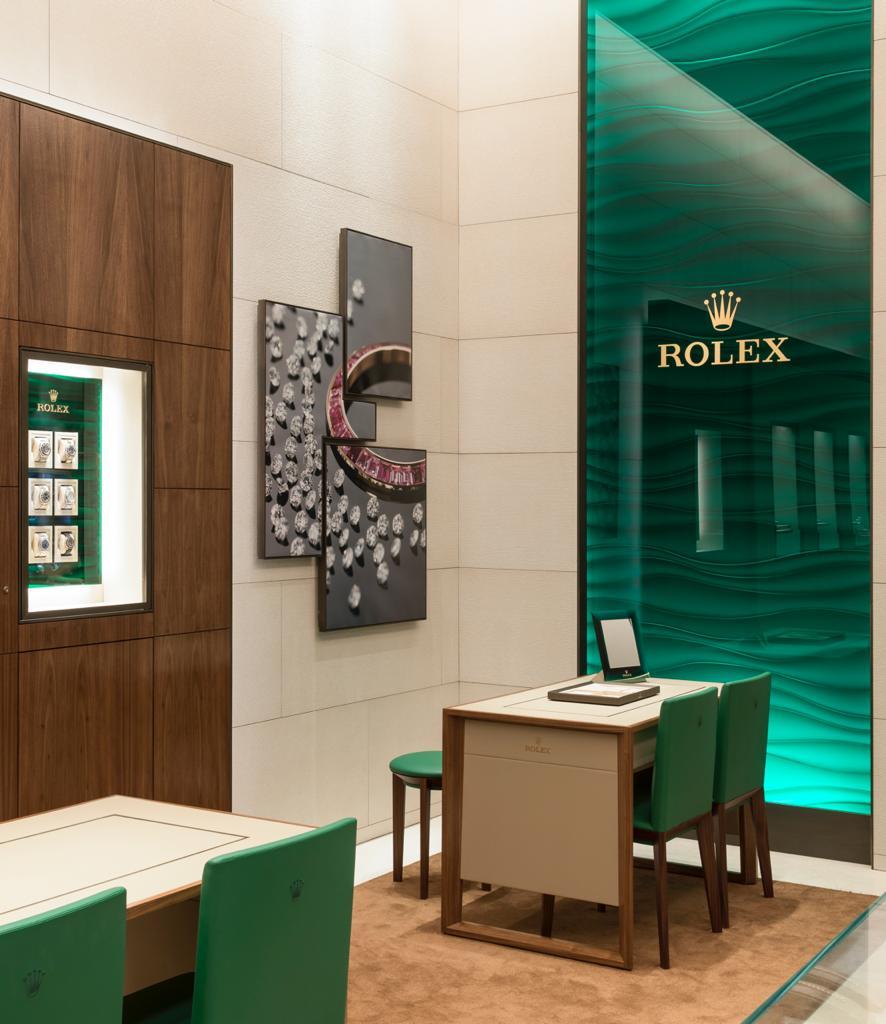 Interior Showroom Rolex Montecristo